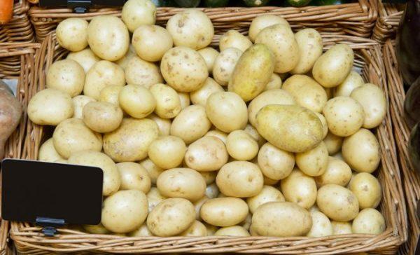 Мини-клубни картофеля