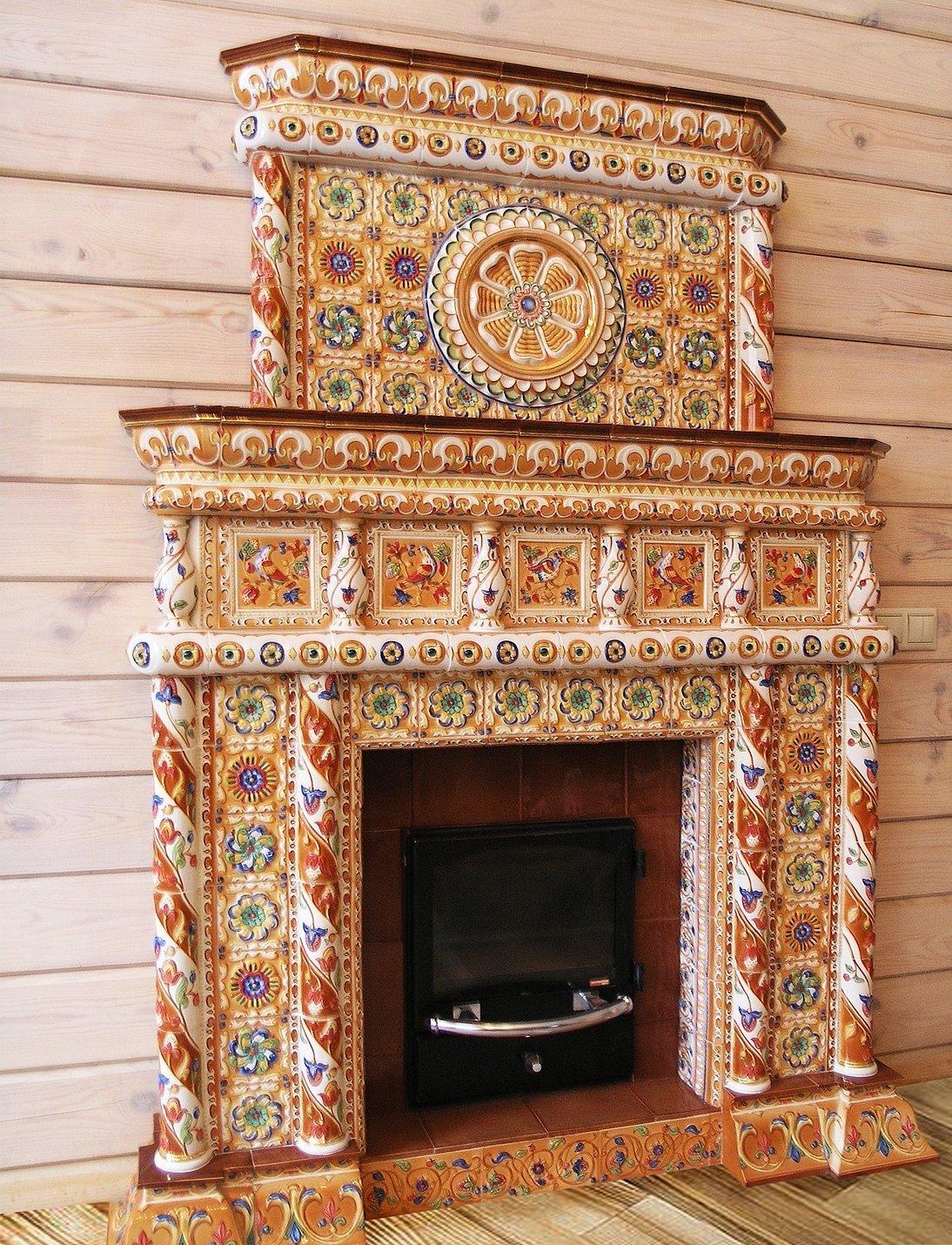 Печка для декораций своими руками фото 406
