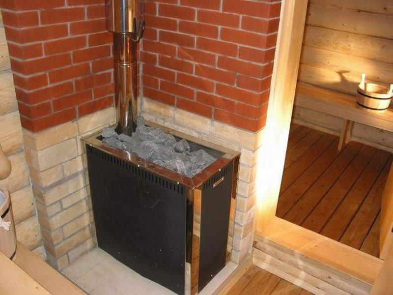 Дровяная печь для бани установка своими руками