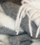 Плед из шерсти альпаки
