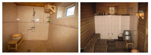 Помещение для мытья в бане