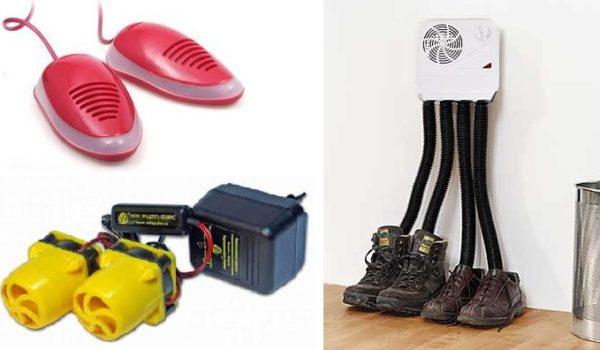 Приспособления для сушки обуви