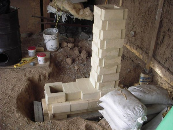 Brick brick oven