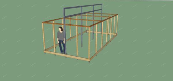 Как построить теплицу своими руками по митлайдеру