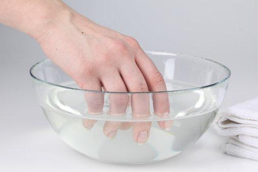 Ванночка для рук с морской солью