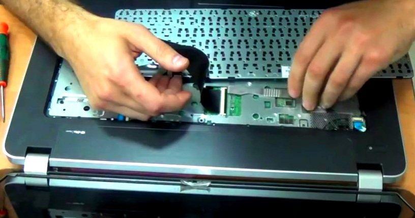 Почистить ноутбук домашних условиях