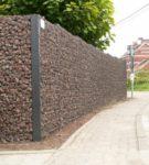 Забор-габион