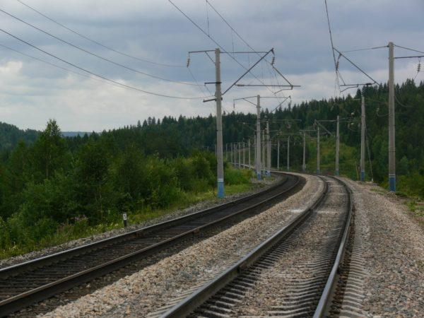 Железнодорожная насыпь