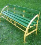 Цветная скамейка