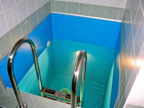 Бассейн с плёночным покрытием