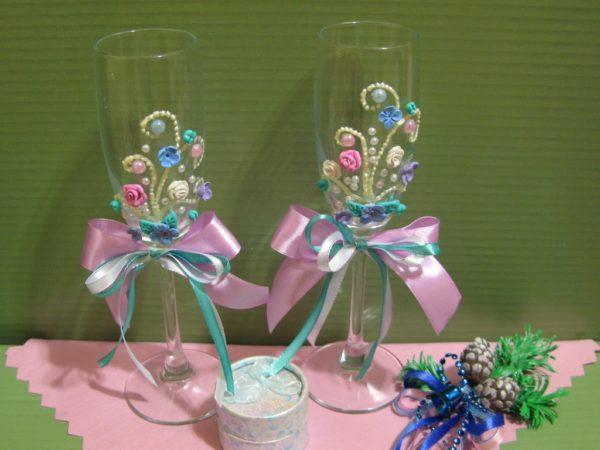 Декорирование стеклянной поверхности