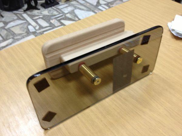 Деревянная ручка для стеклянной двери