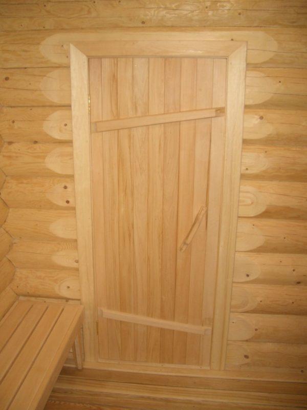 Дверь в парилку