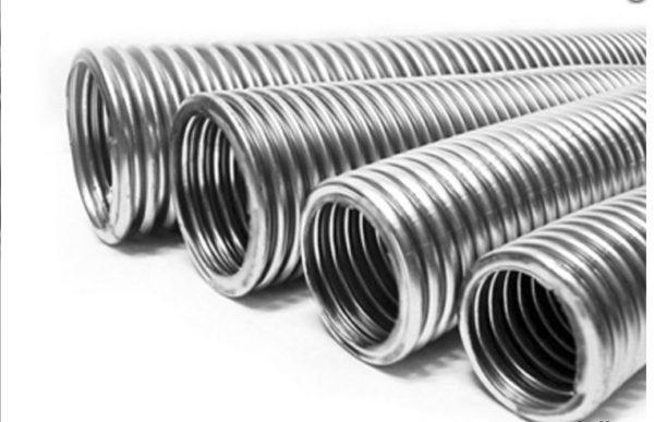Гофрированные металлические трубы
