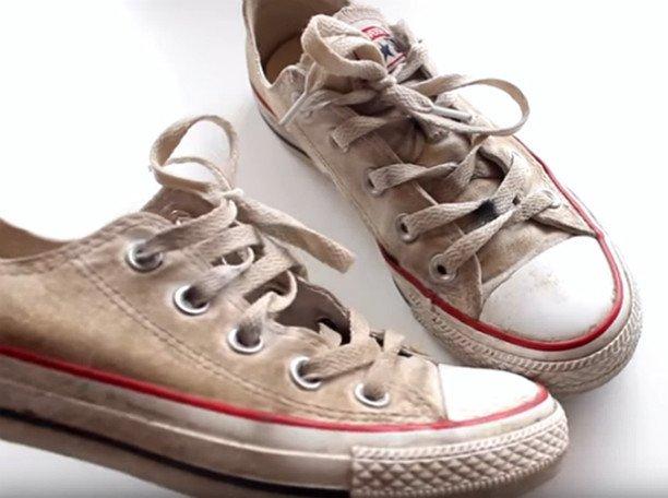 Отбелить кроссовки в домашних условиях 69