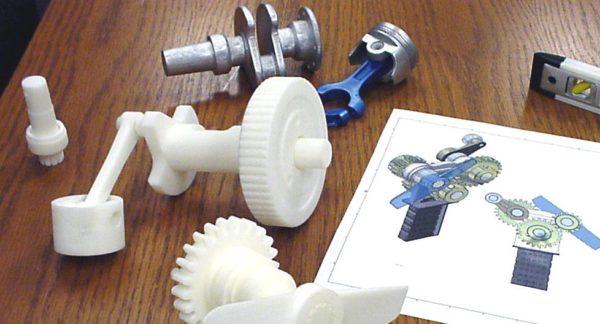 Использование объёмной печати для изготовления запчастей