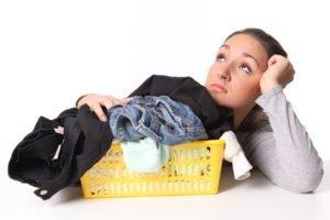 как отстирать пятна на одежде