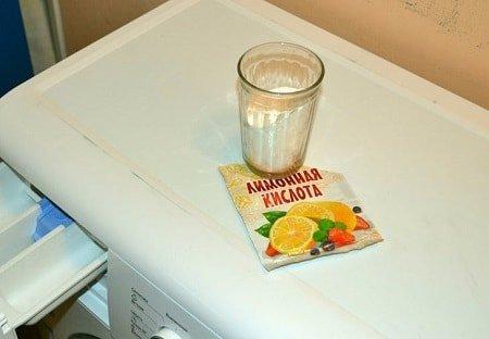Лимонная кислота и стиральная машина