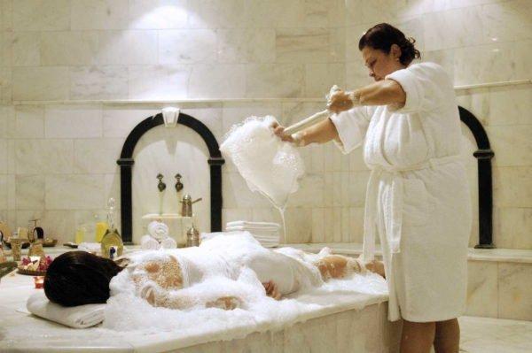 Мытье в хамаме