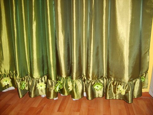 Как своими руками удлинить шторы 23