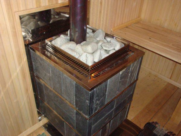 Электрокаменка для сауны своими руками
