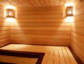Полок в бане