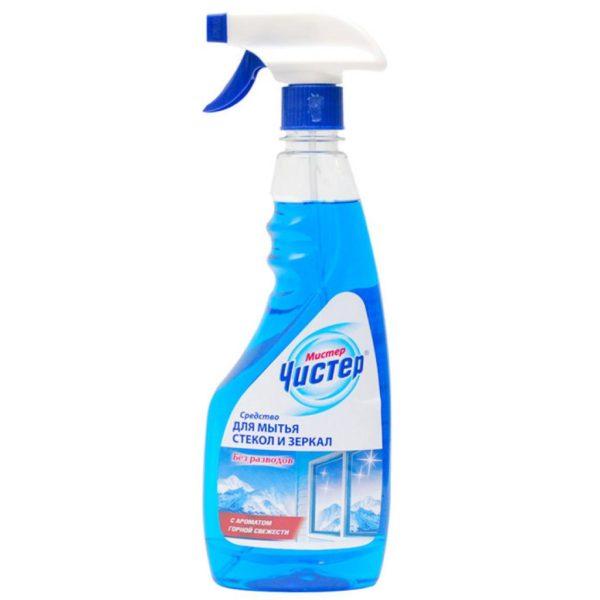 Промышленное средство для мытья зеркал