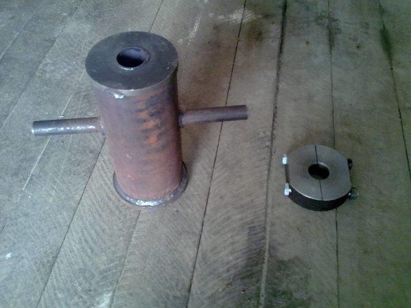 Самодельный инструмент для установки столбов