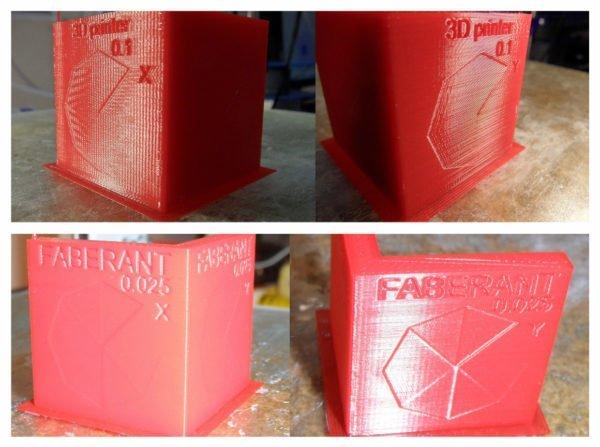 Так выглядит один и тот же макет, выполненный на 3D-принтере с различной точностью печати