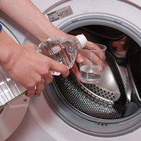 Уксус и стиральная машина
