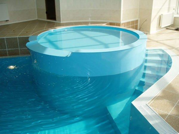 Врытый бассейн