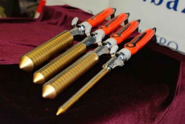 Цилиндрические плойки с разным диаметром