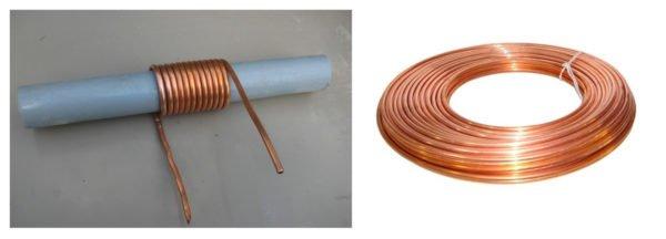 Изготовление змеевика из круглой медной трубы