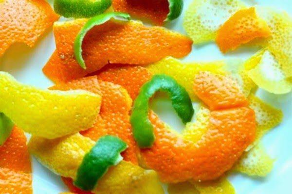 Корки цитрусовых