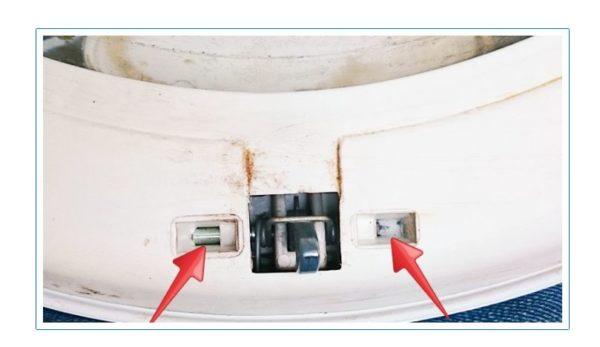 Ось замка люка стиральной машинки