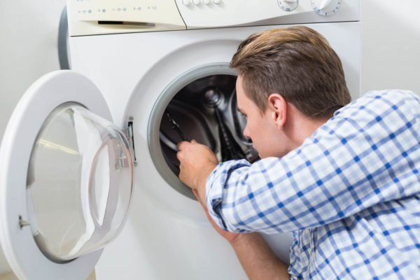 ремонтировать люк стиральной машины