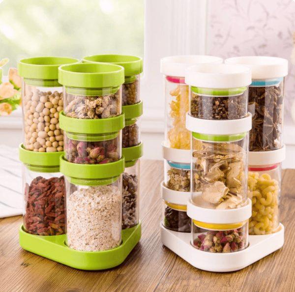 Пластиковые кухонные контейнеры