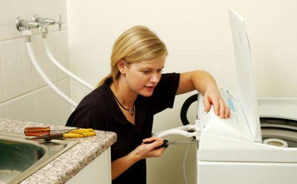 разборка вертикальной стиральной машины