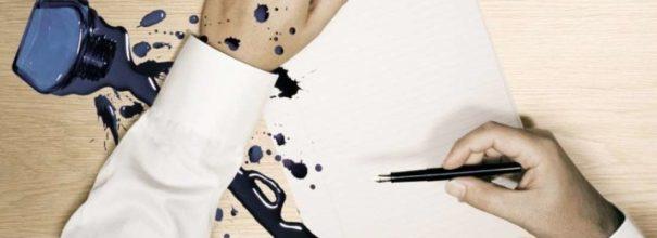Как вывести пятно от ручки с чехла фото
