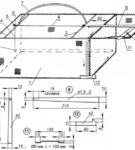 Подробная схема ловушки из сетки