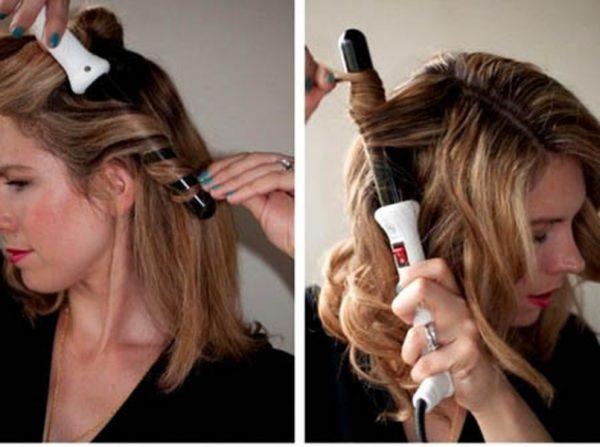 Техники вертикальной завивки волос