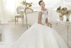 Уход за свадебным платьем