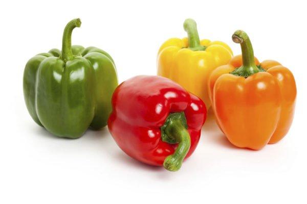 Болгарский перец разных цветов