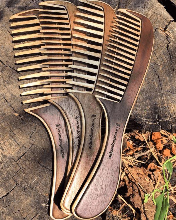 Деревянные расчёски