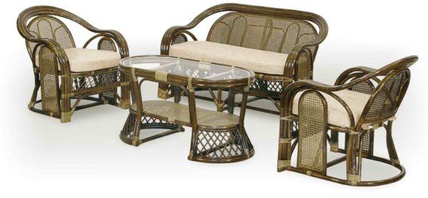 Гарнитур плетёной мебели