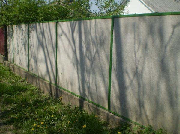 Готовый забор