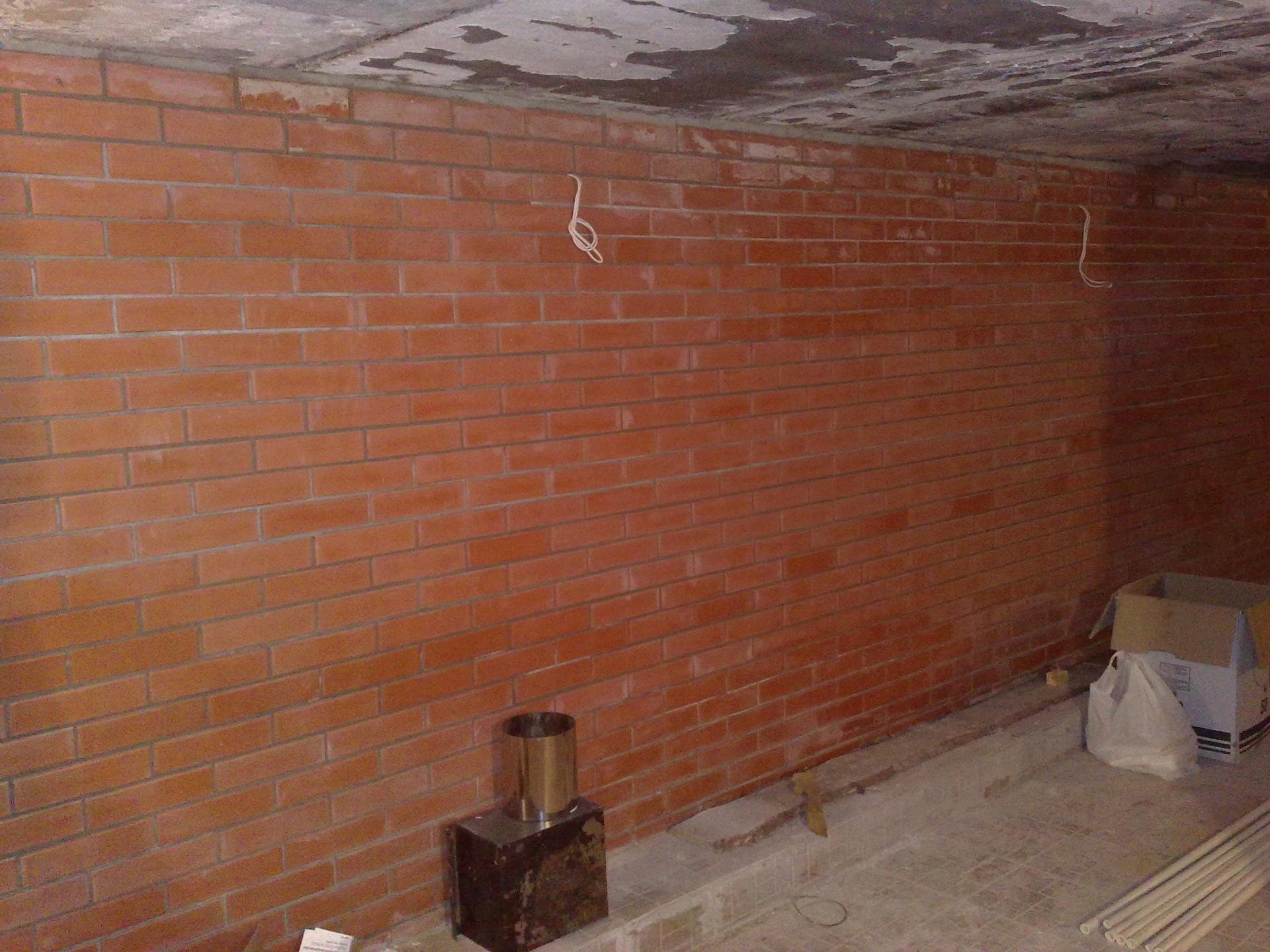 Стена в подвале своими руками 39