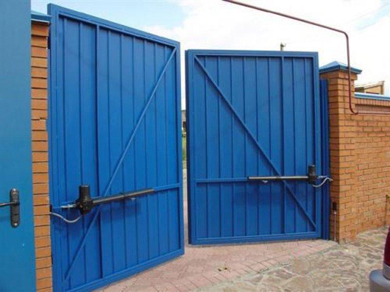 Как вручную открыть автоматические ворота