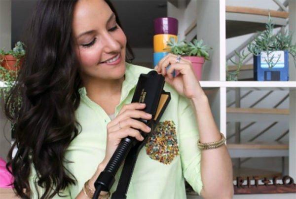 разгладить вещи утюжком для волос