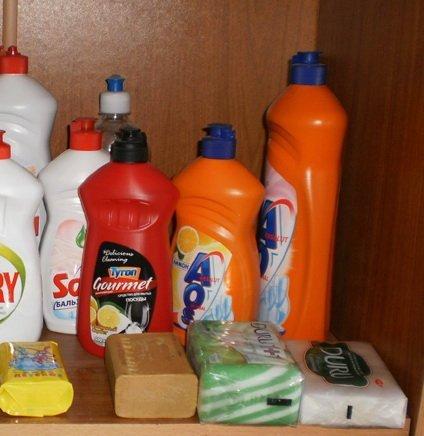 Мыло и моющие средства